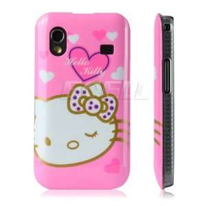 Ecell   PINK HELLO KITTY HARD CASE FOR SAMSUNG S5830