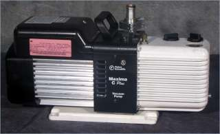 FISHER SCIENTIFIC M8C MAXIMA C PLUS ROTARY VANE VACUUM PUMP/6.1 CFM