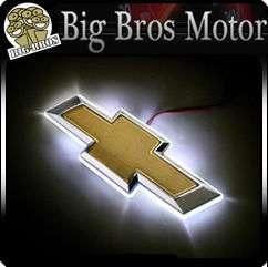 CHEVROLET CHEVY CAR LED LIGHT UP BADGE DECAL LOGO EMBLEM STICKER
