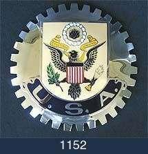 CAR GRILLE EMBLEM BADGES   USA(EAGLE)