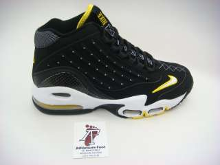 NIKE AIR MAX GRIFFEY II SNEAKER NEW SUPREME RETRO BLACK WHITE YELLOW