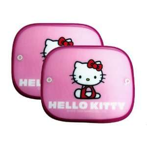 Spring Sun Shade for Cars   Hello Kitty Pink Automotive