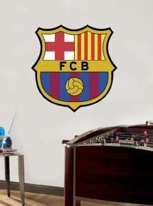 FCB BARCA BARCELONA Decal Removable Repositionable HUGE WALL STICKER