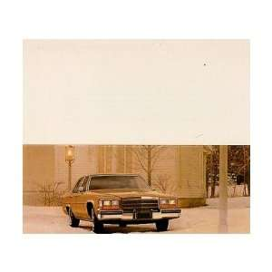 1982 CADILLAC SEDAN DEVILLE Mailer to Test Drive Automotive
