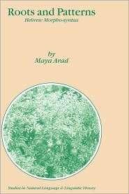 Morpho syntax, (1402032439), Maya Arad, Textbooks