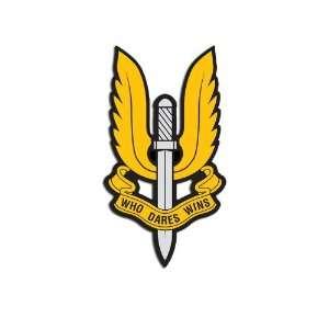 SAS British Special Air Service Seal Sticker Everything