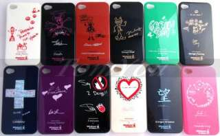 Cute Girl Fashion Hard IMD Back Case Cover For Apple iPhone 4G 4S 4GS