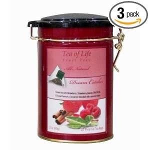 Tea of Life Fruit & Herbal Dream Catcher, 20   Count Pyramid Tea Bags