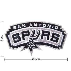 3pcs San Antonio Spurs Logo Embroidered Iron on Patches