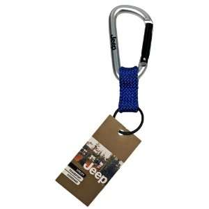 EK Ekcessories 10710C B23 AM Jeep Carabiner Blue Key