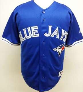 2012 New Toronto Blue Jays BLANK Blue Sewn Jersey High Quality Mens 6
