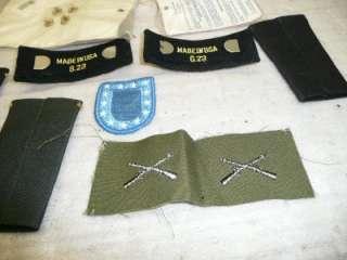 VINTAGE US lieutenant bar ARMY FIRST LIEUTENANT RANK INSIGNIA officer
