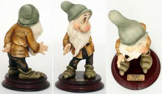 Giuseppe Armani BASHFUL Snow White dwarf Walt Disney MINT IN BOX