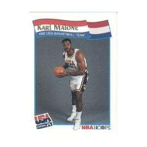 1991 92 Hoops McDonalds #56 Karl Malone USA
