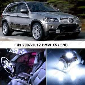BMW X5 WHITE LED Lights Interior Package Kit M E70 (17