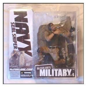 McFarlane Toys 6 Military Series 4   Navy Seal Sniper Caucasian Toys