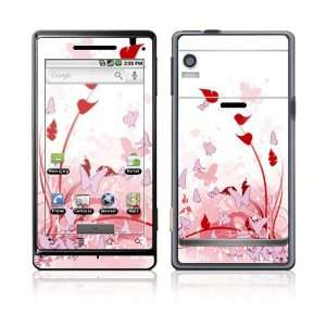 Pink Butterfly Fantasy Design Decal Skin Sticker for