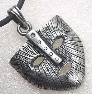 THE MASK of Loki NORSE/VIKING God Silver Pewter pendant/Charm/Amulet