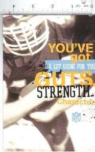 HALLMARK NFL THEME BIRTHDAY CARD #2