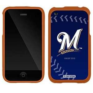 Milwaukee Brewers stitch on AT&T iPhone 3G/3GS Case by