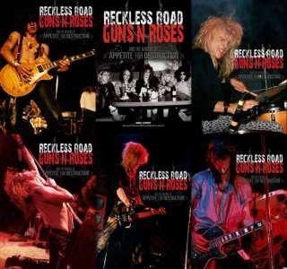 Guns N Roses signed Reckless Road book Slash Axl Rose