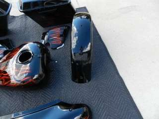 08 Harley FLHX Street Glide Radical Paint Set Tin Complete Tank