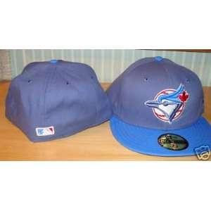 Toronto Blue Jays New Era Cap Hat Slate Custom 7 3/4   Men