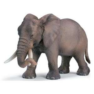 Female African Elephant Model Animal by Schleich Toys & Games