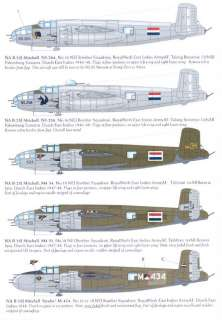 Dutch Decals 1/32 B 25 MITCHELL Netherlands East Indies