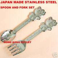 HELLO KITTY Stainless Steel Fork & Spoon Sanrio B1a+B1b