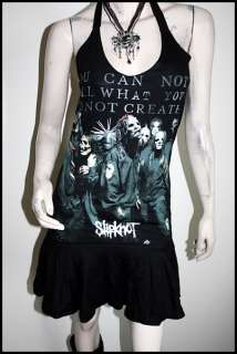 slipknot Heavy Metal Rock DIY Halter Dress Top