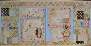 Premade Scrapbook Pages ANY THEMES Tear Bear Paper Piecing .99 Start