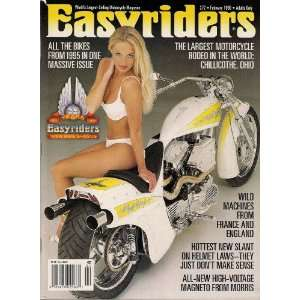 EASYRIDERS MAGAZINE FEBRUARY 1996 MORE THAN 200 CUSTOM BIKES FEATURED