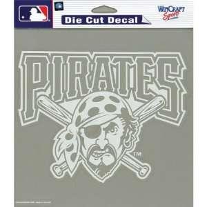 Pittsburgh Pirates   Logo Cut Out Decal MLB Pro Baseball Automotive