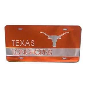 Texas Longhorns Orange W/Silver Bevo & TEXAS/Orange