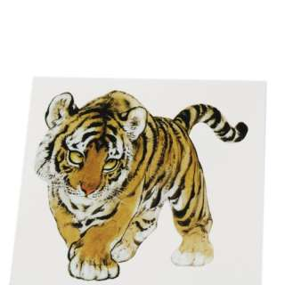 Fashion Waterproof Temporary Tattoo Sticker tiger new