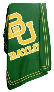 Baylor University Bears BU Fleece Throw Blanket NIP