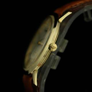 VINTAGE LONGINES ULTRA SLIM 14K SOLID YELLOW GOLD MEN'S WATCH
