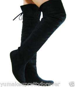 Comfort Slouchy Thigh High Women Boots Casual Shoes5 10