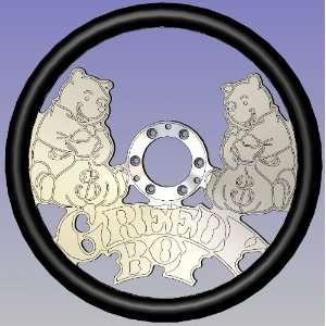 Greedy Boi Full Wrap Billet Steering Wheels Automotive