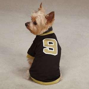K9 Brew Brees Dog Jersey Leader of the Pack Saints Pet Shirt XXS XL
