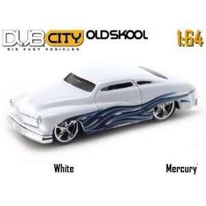Jada Dub City Oldskool White 1951 Mercury 1:64 Scale Die