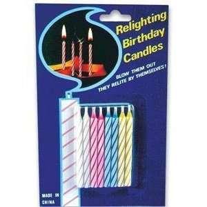 EVERLIT BIRTHDAY CANDLES   Joke / Prank / Gag Gift: Toys