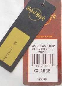 Hard Rock Cafe LAS VEGAS STRIP City Tee T SHIRT MWMT 2X