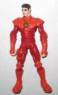 BURGER KING 2000 Stan Lee RED action FIGURE TOY