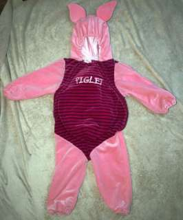 Disney Piglet Halloween Costume 18   24 mos Pink Pooh