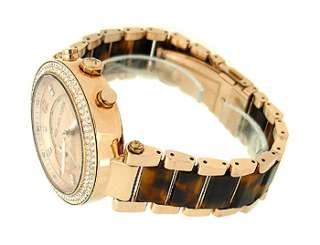 MK5538 Rose gold tone Round Dial Metal/plastic Womens Watch