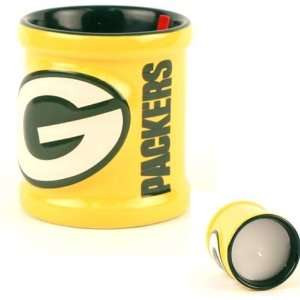 Officially Licensed Green Bay Packers NFL Ceramic Votive