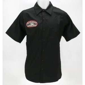 Throttle Threads Speed Shop Shop Shirt   Medium/Black Automotive