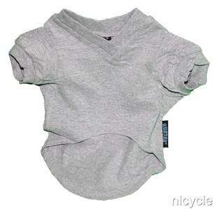 New York Giants NFL Pet Dog Football Grey T Shirt M